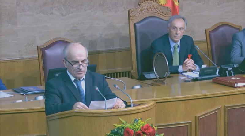 Crna Gora: U toku konstitutivna sjednica, dio DF-a nije prisustvovao intoniranju himne
