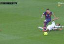 Gori na Camp Nou: Da li je Barcelona oštećena za penal? Messi se valjao od bolova…