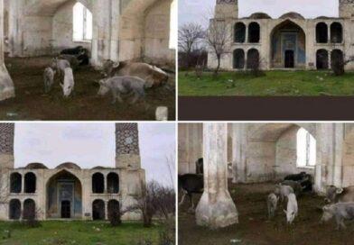 (VIDEO) NEW! AGDAM: Oslobođena 'ponižena džamija' od koje su armenski okupatori napravili svinjac