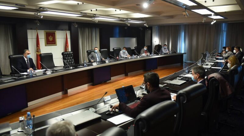 """Montenegro: """"NCB"""" imposes new measures due to the complexity of the epidemic situation"""