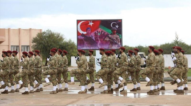 Libyan soldiers complete Turkish army training