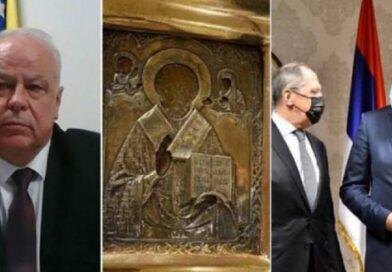 Klupko se odmotava: Poznata vrijednost ikone koju je Dodik poklonio Lavrovu