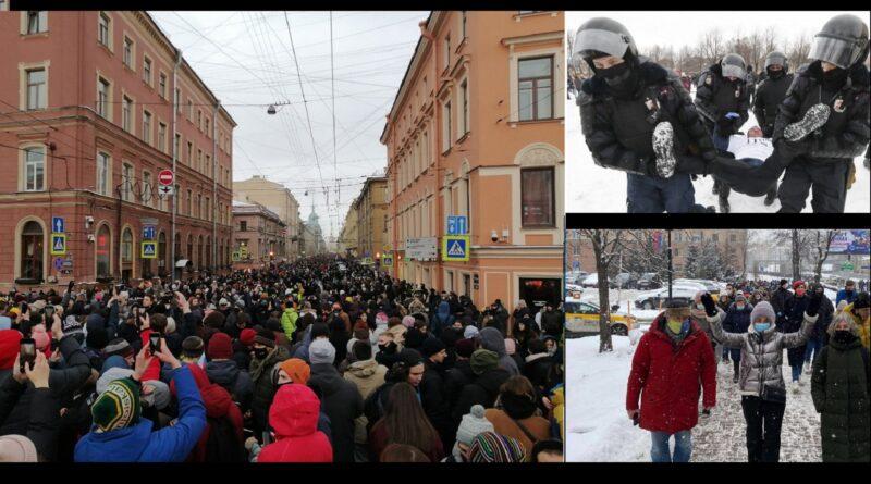(VIDEO) Ponovo protesti u Rusiji. Putinova policija hapsi i bije bez milosti