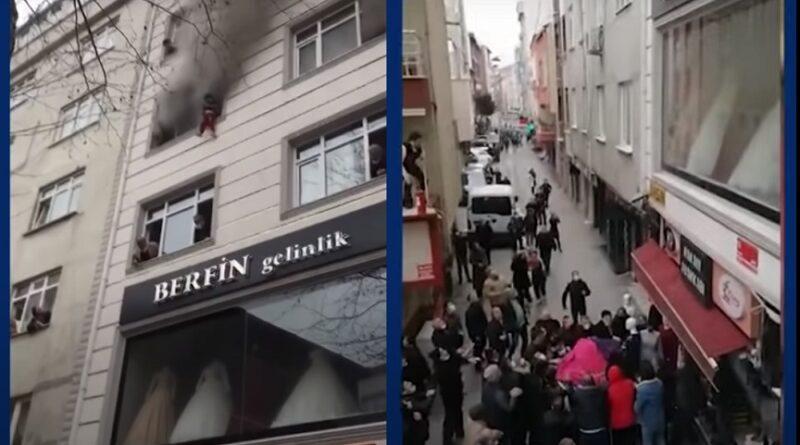 Djecu bacila kroz prozor kako bi ih spasila od požara