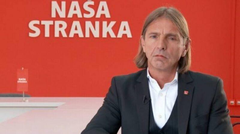 Dragan Markovina, Naša stranka, pomoć HDZ-u