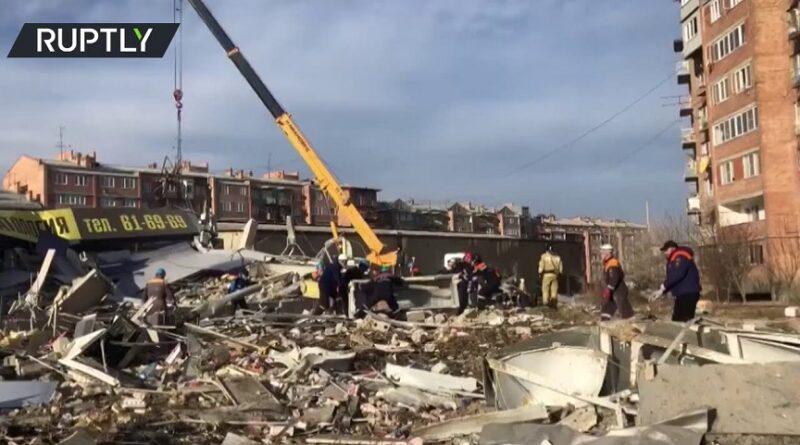 U Rusiji je jutros došlo do snažne eksplozije u kojoj je stradao čitav trgovački centar.