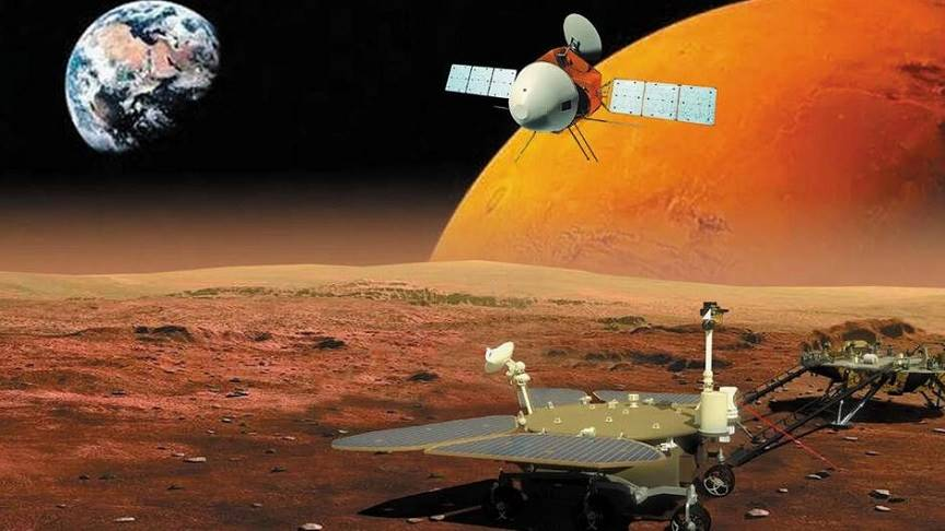 China's first Mars mission enters orbit around Mars