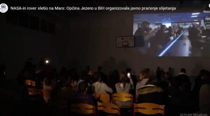 NASA-in rover sletio na Mars-krater Jezero: Općina Jezero u BiH organizovala javno praćenje slijetanja