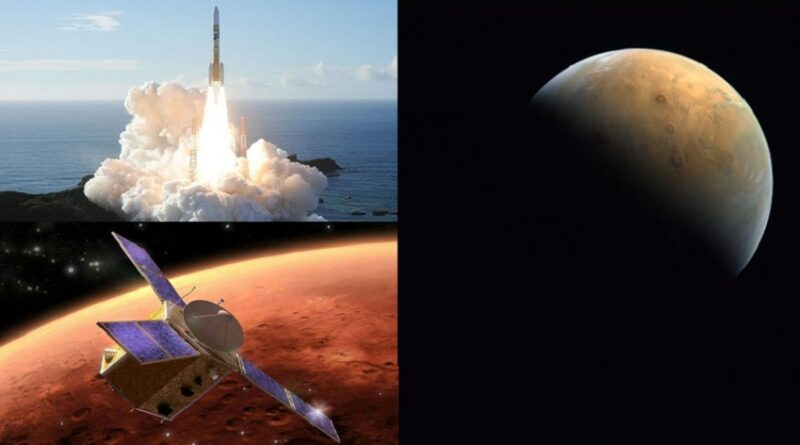 Prvi snimci Marsa UAE Letjelice