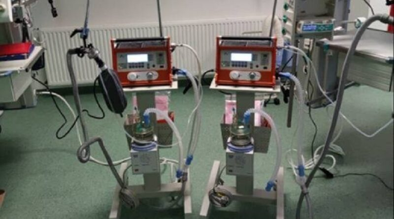 Respiratori iz Kine verificirani i pušteni u rad
