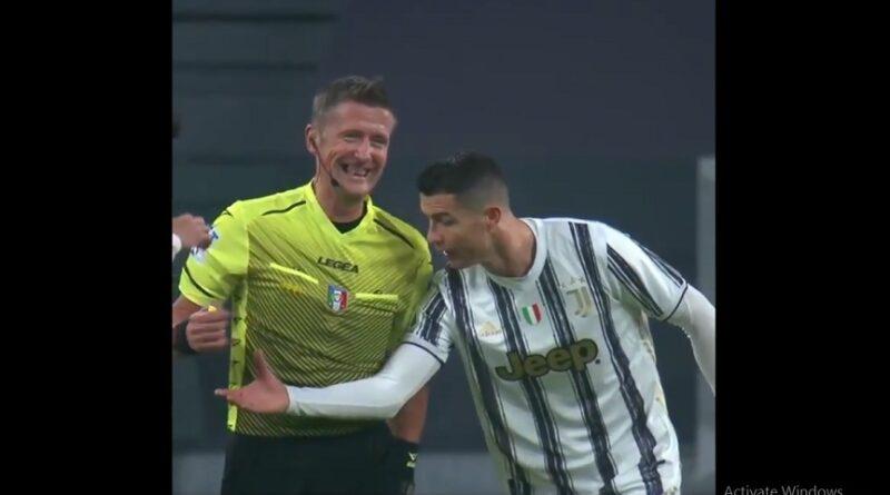 (VIDEO) Interesantna scena na derbiju, Ronaldo lovio sudiju da provjeri radi li mu sat