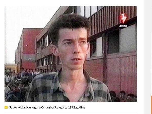 Satko Mujagić u Logoru Omarska 1992