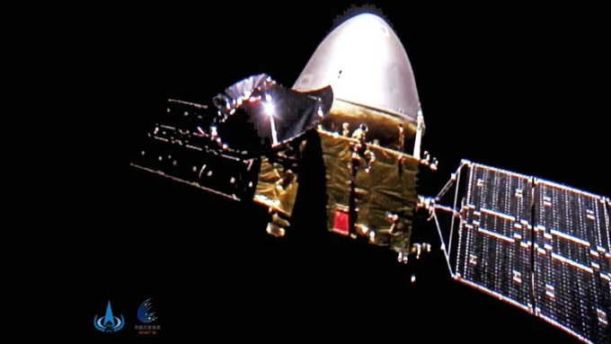 China's first Mars mission enters orbit around Red Planet