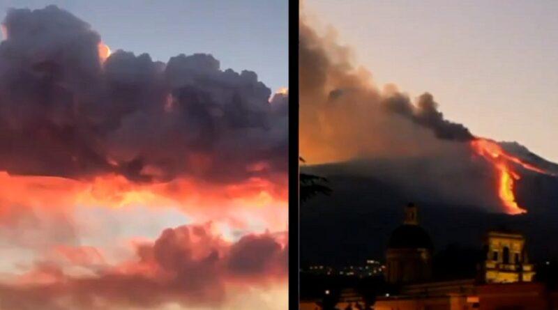 Vulkan Etna ponovo aktivan