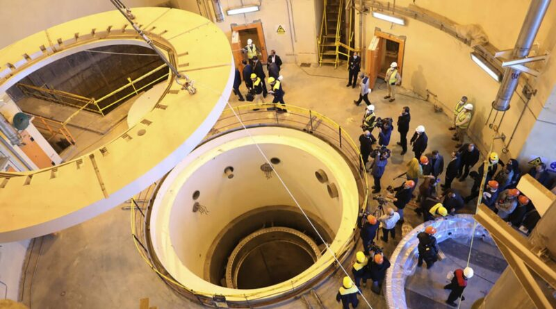 Iran to cold take a look at redesigned spirits reactor