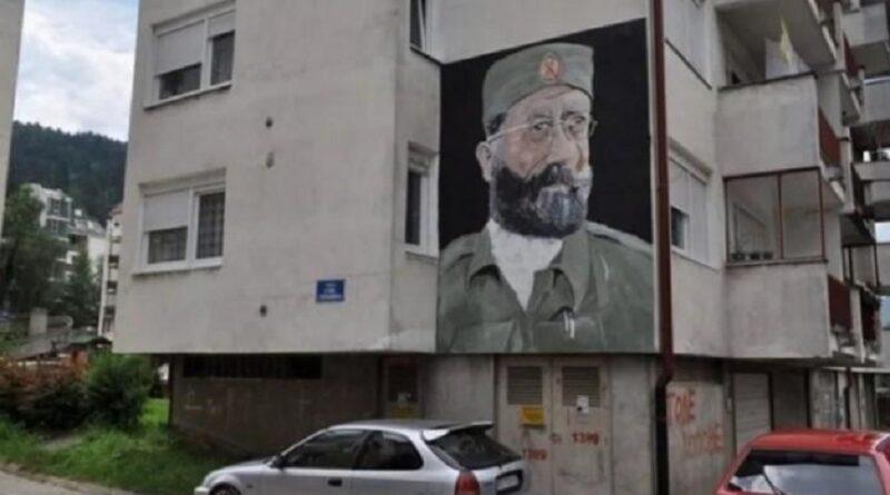 Bijeljina spomenik Draži Mihajloviću