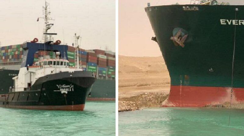 Brod MV Ever Given, se nasukao i blokirao Suecki kanal