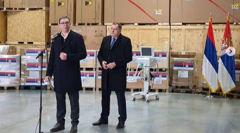 Dodik o ruskim vakcinama za Federaciju BiH