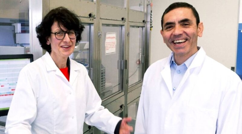 BioNTech vaccine inventors to receive Germany's Knight Commander's Cross