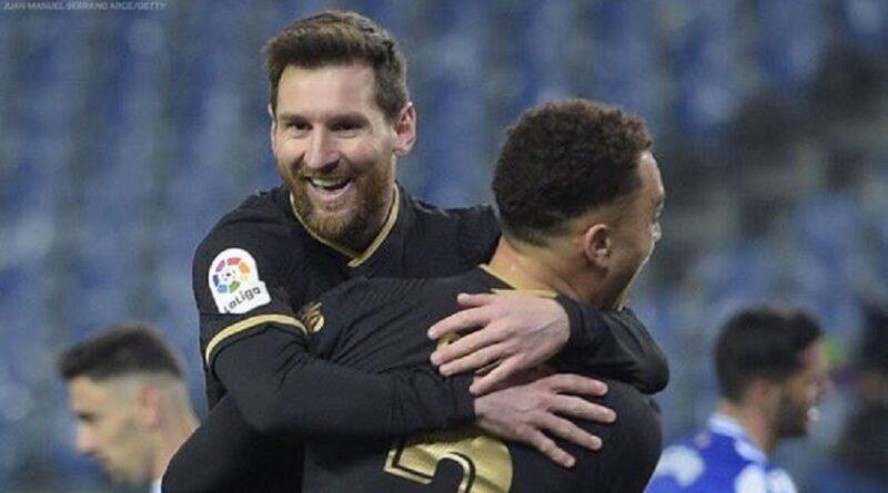 Messi je odigrao jednu od uMessi je odigrao jednu od utakmica životatakmica života