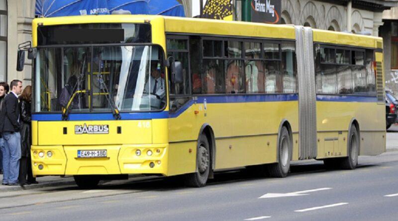 Sarajevo, GRAS, obustava, Javni prevoz