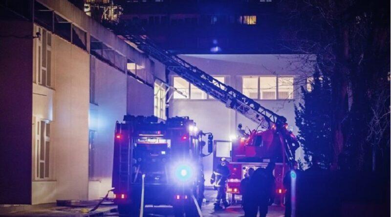U Zagrebu zapaljena kuća, kamin se zapalio i eksplodirao