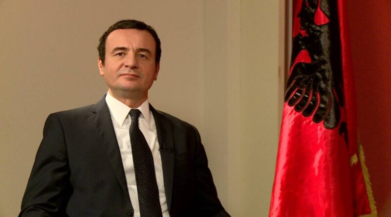 Albin Kurti je večeras izjavio da dijalog sa Srbijom ne može biti ni prvi ni drugi prioritet vlade