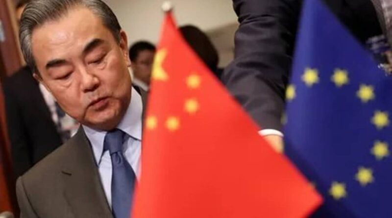 China's retributive sanctions on the EU set the stage for a way capital of Red China can answer different international powers