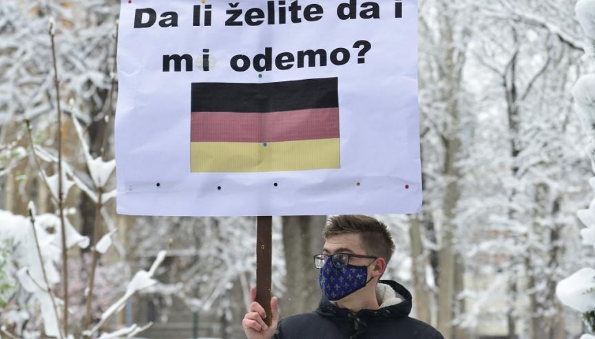 Sarajevo, protesti, studenti, Vlada KS