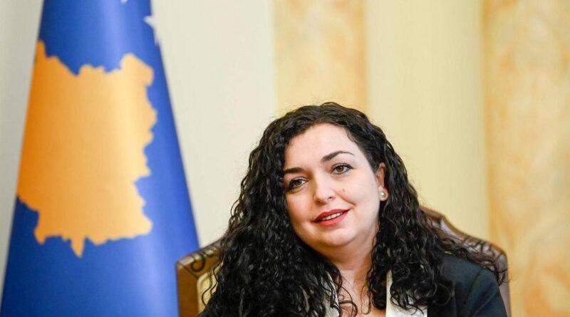 Vjosa Osmani, nova predsjednica Kosova