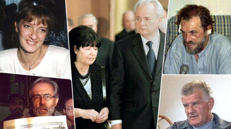 Zločini režima Slobodana Miloševića