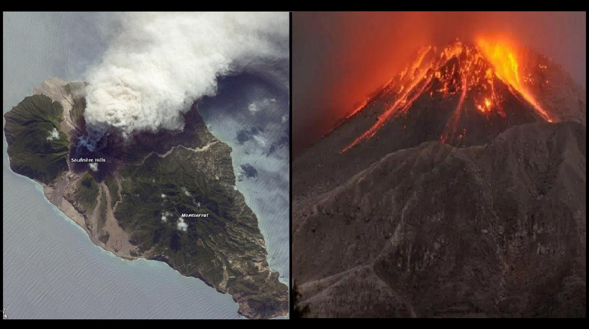vulkan, karipsko ostrvo, Sveti Vincento- erupcija, evakuacija