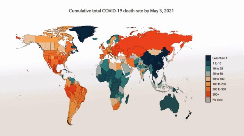 HME: Broj umrlih u svijetu od Covid-19 dvostruko je veći od službenih procjena