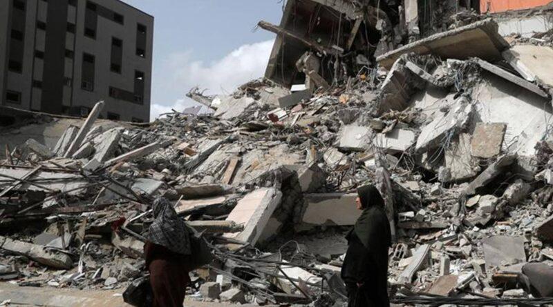 Israel-Hamas conflict: Biden vows to rebuild Gaza