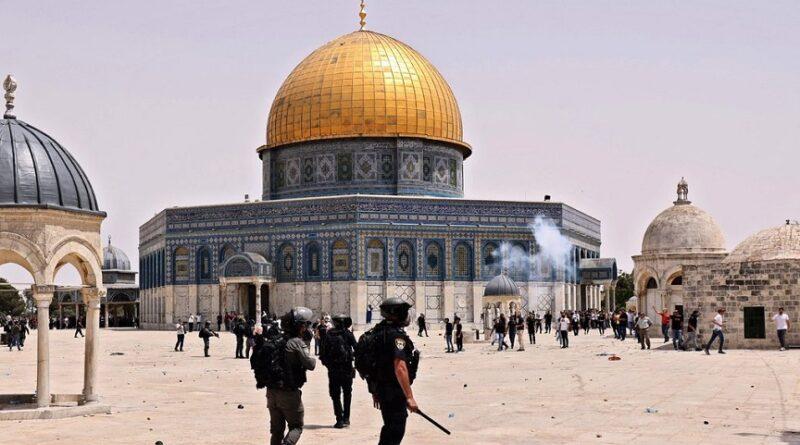 Al-Aqsa, izraelska-policija, napad,