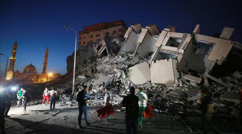 Gaza; Palestina, Tel Aviv, napad