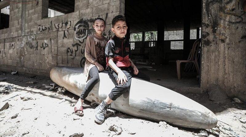 Gaza, djeca, projektili, Izrael, bombardovanja