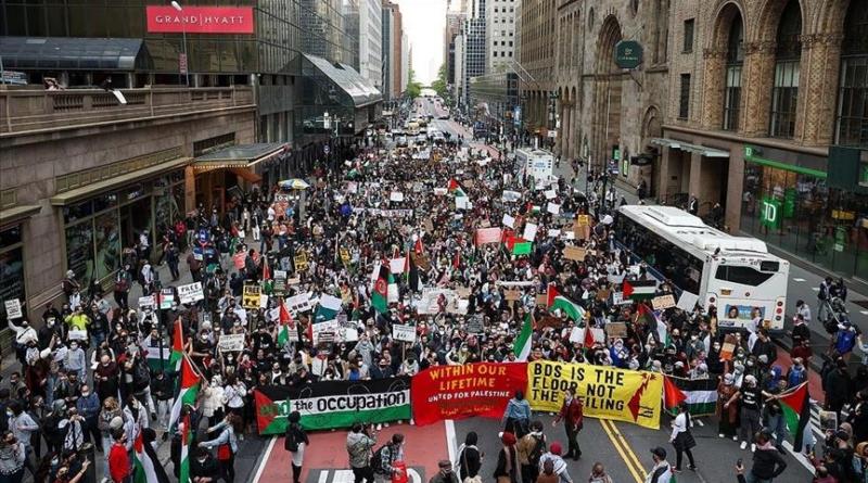New York, protesti, Palestina