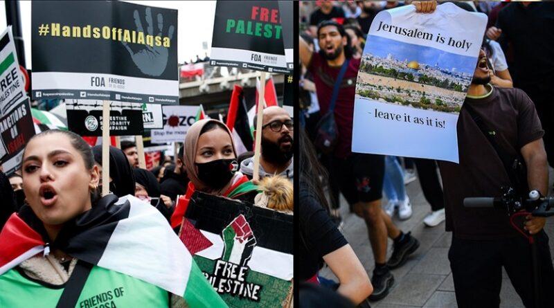 Palestina, Podrška, Sofija, Lonodon