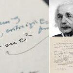 Prodaja, Einsteinovo pismo, čuvena formula, e=mc2