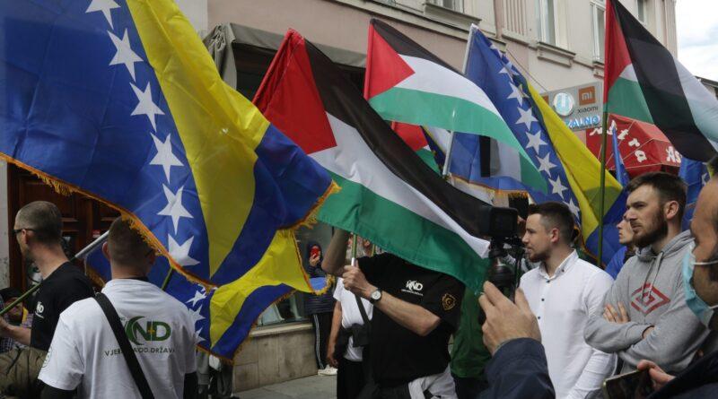 Sarajevo, protesti, podrška_Palestini