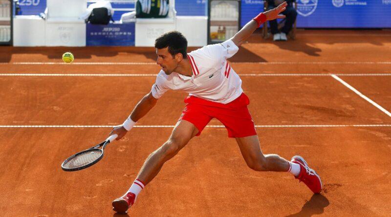 Stefanos Cicipas, Novak Djokovic, Rim