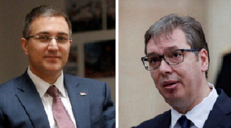 Vučić, Nebojša Stefanović, ostavka