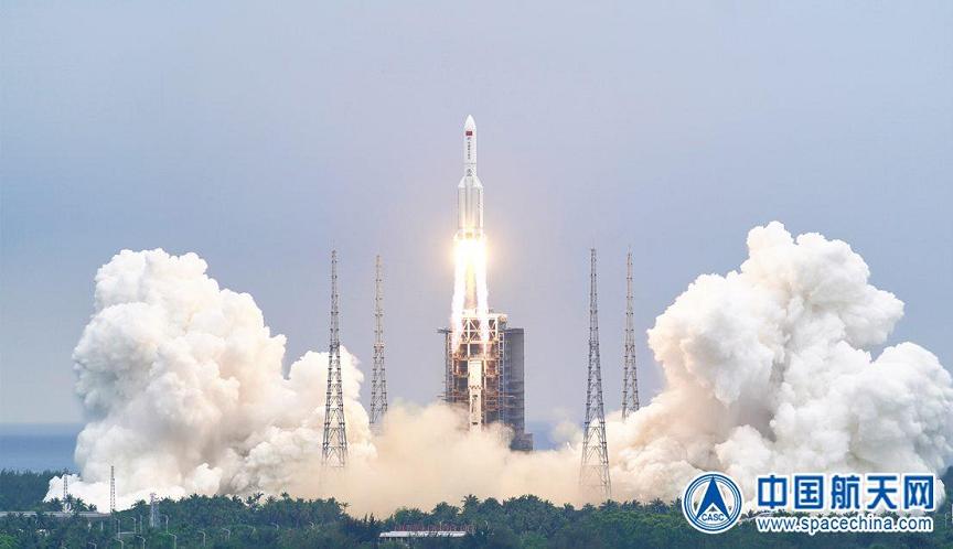 kineska raketa pad u more