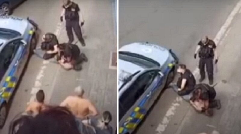 Češka, Rom, policija, brutalnost