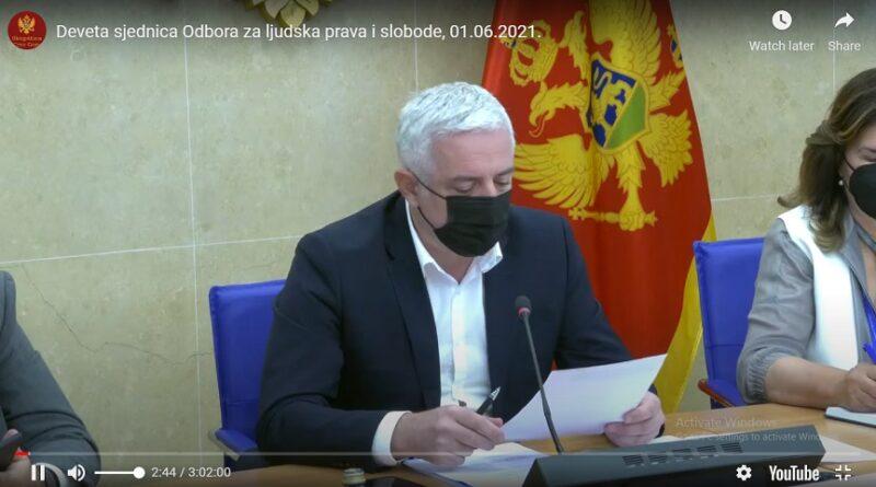 Crna Gora, Rezolucija o Srebrenici