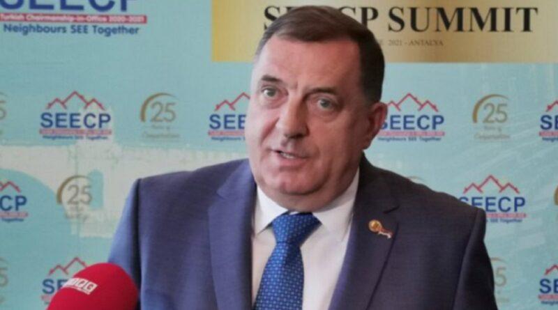 Dodik, rzolucija o Srebrenici