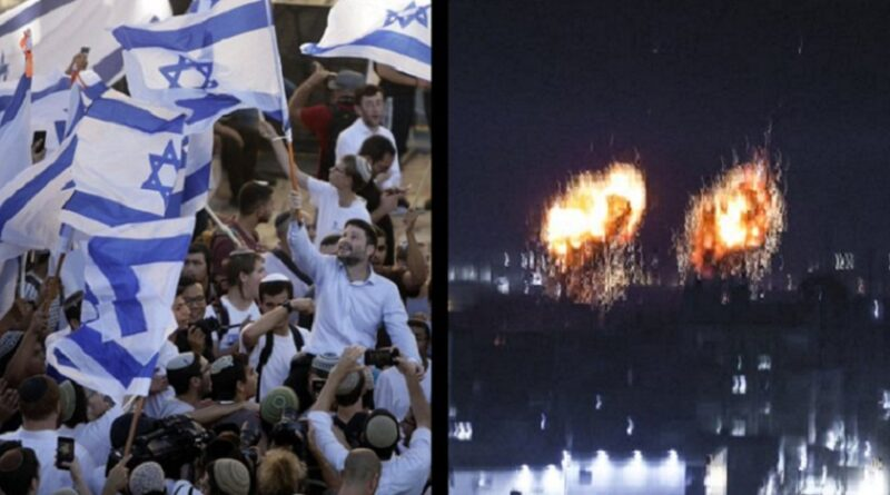 Izrael, marš desničara, napad, Gaza, Hamas
