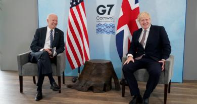 Joe BIden, Bris Jonson, G7