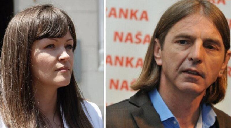 Naša stranka, ostavke, Irma Baralija, Peđa Kojović